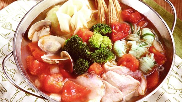 番茄海鮮鍋
