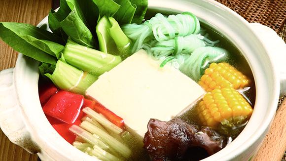 涓豆腐素食鍋