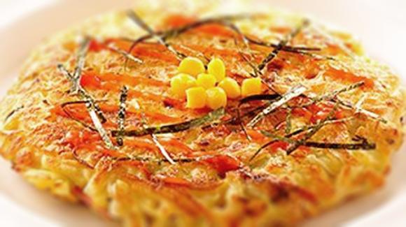 香蟹金黃玉米煎餅