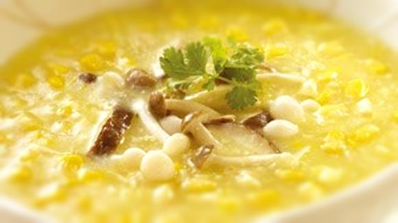 珍菇玉米濃湯