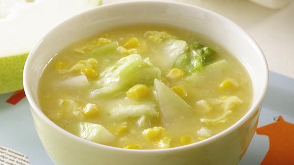 冬瓜玉米濃湯