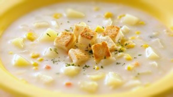 牛奶馬鈴薯濃湯