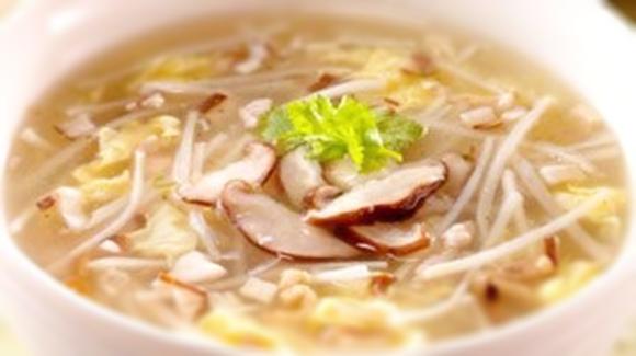 銀芽竹筍濃湯