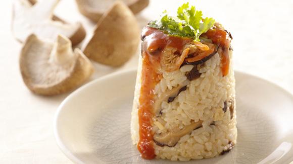 香菇珍珠米糕