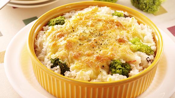 花椰菜焗烤飯