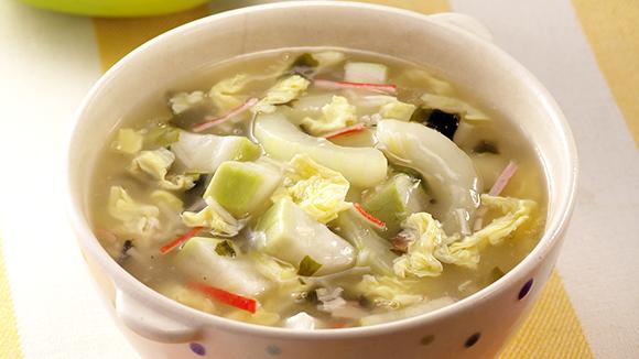 瓜瓜海鮮濃湯