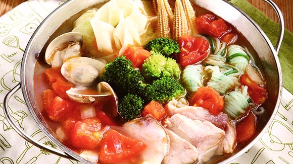 蕃茄海鮮鍋