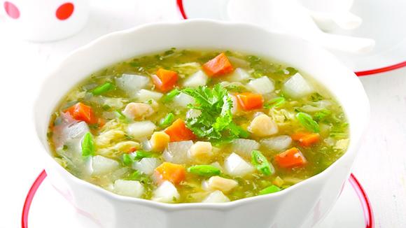 紅白勝利蔬菜湯