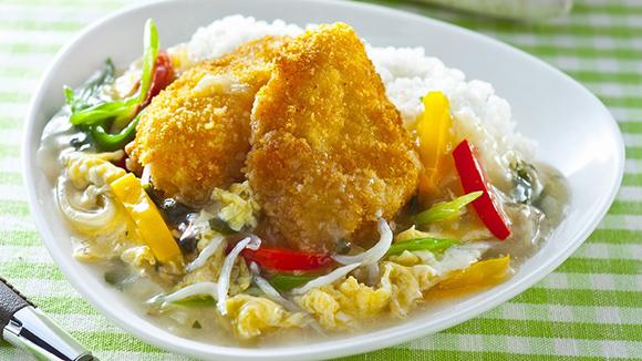 黃金魚排燴飯