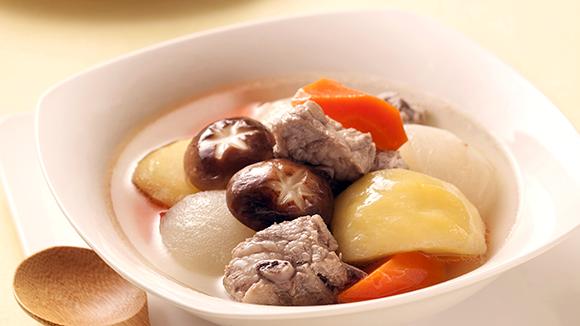 蔬果排骨湯