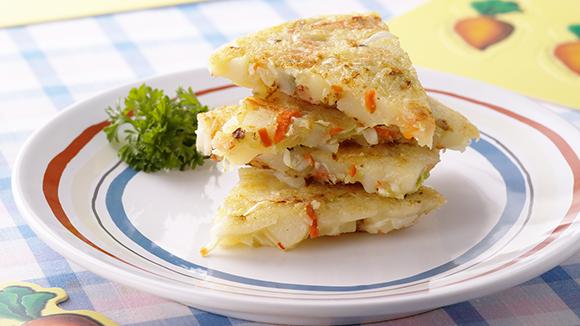 紅蘿蔔馬鈴薯煎餅