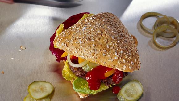 Konfetti-Burger