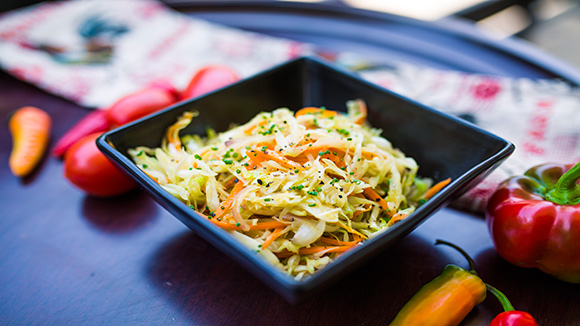 Fried Cabbage with Royco Beef Cube