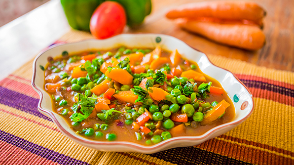 Simple Mixed Vegetable Stew