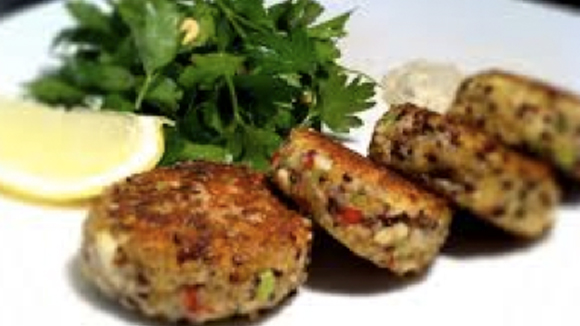 Spicy red tilapia fish cakes