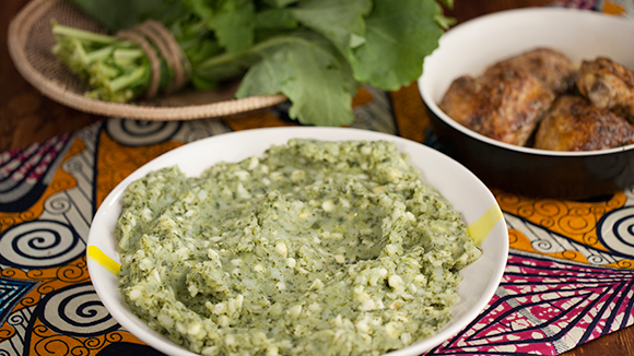 Irio(mashed peas and potato mix)