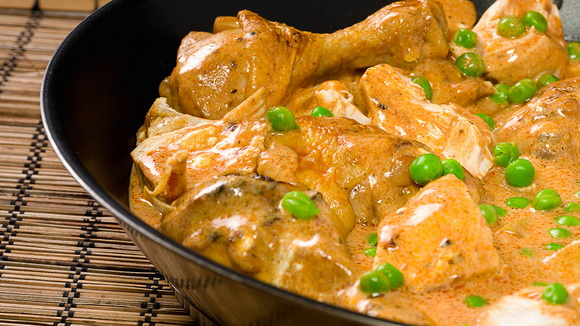 Рагу из цыпленка с картофелем