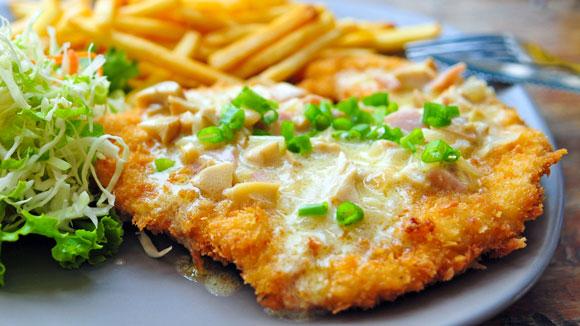 Spicy Chicken Schnitzel