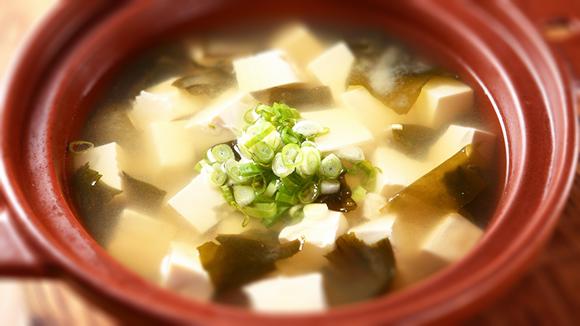 日式鮮魚味噌湯
