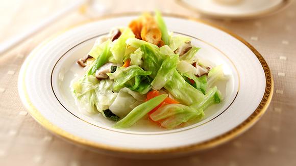 蒜香高麗菜